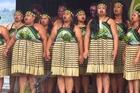 Waikaremoana Whanaunakore perform. Photo / Katee Shanks