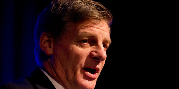 Loading Bill English believes debate for a republic is a way off. Photo / Jason Oxenham