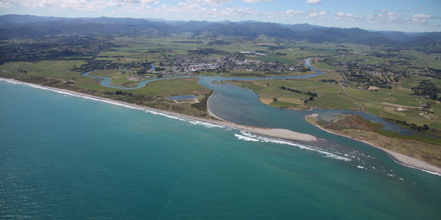 Aerial veiw of Opotiki. The young girls at the centre of the case said the sex was consensual and one complained police weren't listening to them. Photo / File