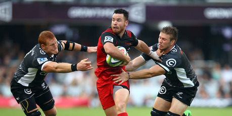 Ryan Crotty of the Crusaders. Photo / Getty Images.