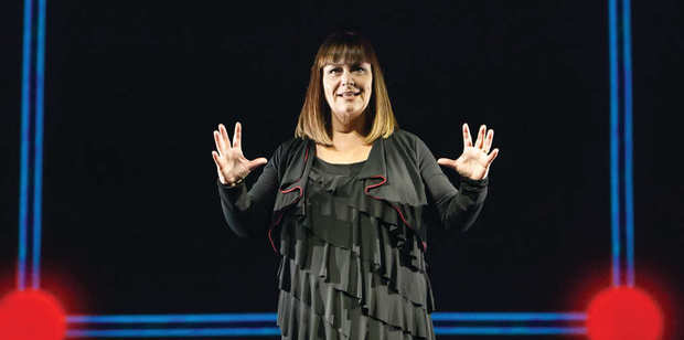 Dawn French performs Thirty Million Minutes at Auckland's Civic Theatre until April 1.