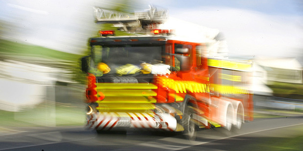 Two fire appliances and two tankers from Rotorua were dispatched to put out the barn blaze. Photo / File