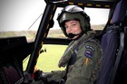 Flight Lieutenant Penny Khull, the first female to qualify as an NH90 pilot in the RNZAF. Photo/supplied
