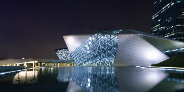 Opera House in Guangzhou China. Photo / Getty Images