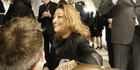 Dame Zaha Hadid attending the opening of the Stuart Weitzman Boutique which she designed in the IFC Mall. Photo / Getty