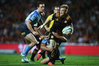 Damian McKenzie and the Chiefs were more than willing to fling the ball around against the Force. Photo / Getty