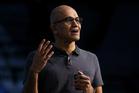 Microsoft Chief Executive Officer Satya Nadella.