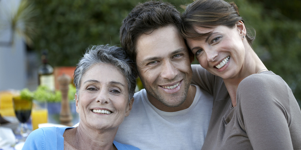 Men often choose partners who resemble their mothers. Photo / Getty