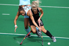 Charlotte Harrison playing Argentina. Photo / Getty Images