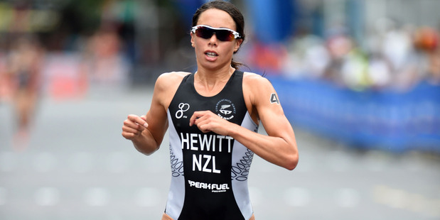 Andrea Hewitt starts her 2016 season in New Plymouth, here she is racing Auckland in 2015. Photo / Delly Carr