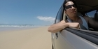 Watch: Watch: Beach driving in Queensland