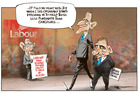 Labour vows to double the refugee quota to 1500 if elected. Illustration / Rod Emmerson