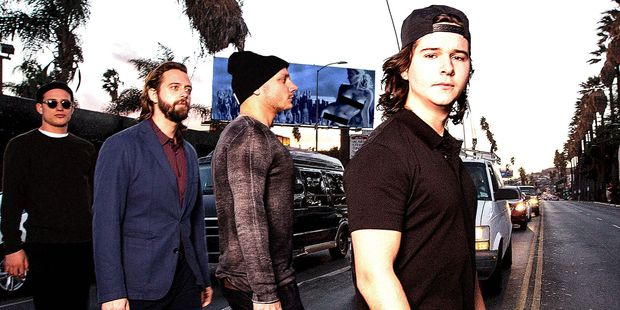 Lukas Graham with his band - also called Lukas Graham.