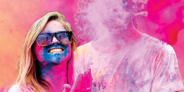Humm FM is celebrating Holi, Colours in the Park today from 2pm.