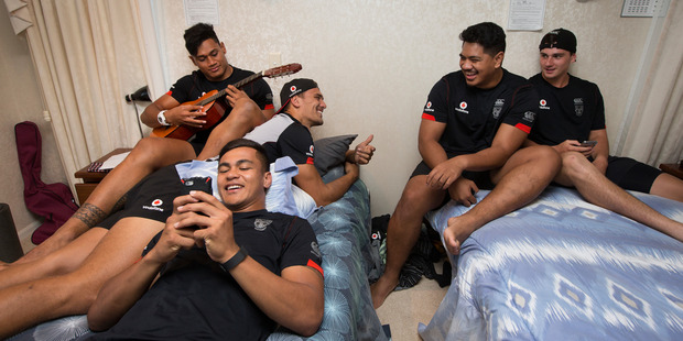 Welcome to the Warriors house, a home away from home for some of the NRL club's most promising young players. Photo / Brett Phibbs
