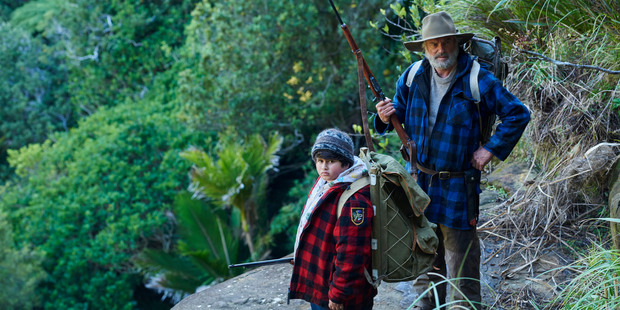 A scene from the movie, The Hunt for the Wilderpeople, directed by Taika Waititi.