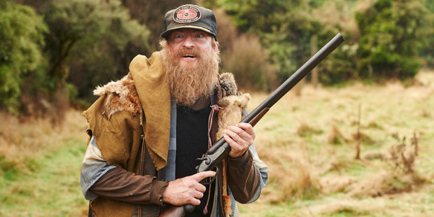 Rhys Darby plays a crazy hermit in the film.