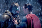 Ben Affleck as Batman and Henry Cavill as Superman.