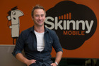 General manager of Skinny Mobile, Ross Parker, said he was proud the company is ahead of the bigger telecommunications companies when it comes to customer care. Photo / Brett Phibbs