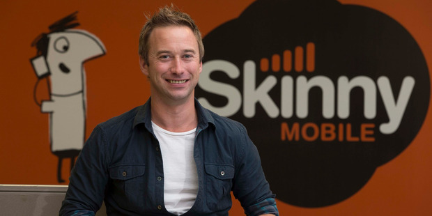 Loading General manager of Skinny Mobile, Ross Parker, said he was proud the company is ahead of the bigger telecommunications companies when it comes to customer care. Photo / Brett Phibbs