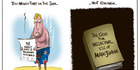 View: Cartoon: NZ has highest rate of melanoma