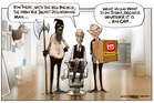 NZ Post announces redundancies. Illustration / Rod Emmerson