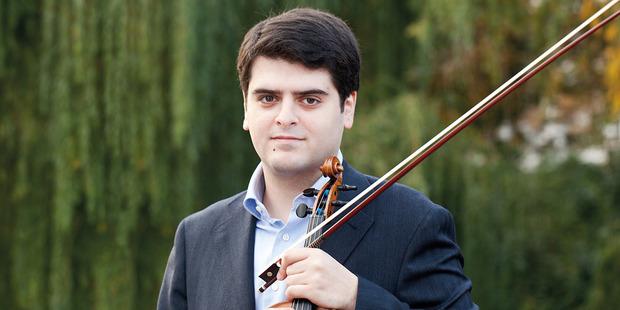 Violinist Michael Barenboim. Photo / Janine Escher