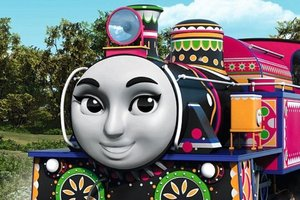 Thomas the Tank Engine will have foreign characters and female characters in the new The Great Race. Photo / Supplied