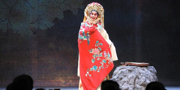 The West Kowloon Bamboo Theatre is open for artists to perform xiqu.