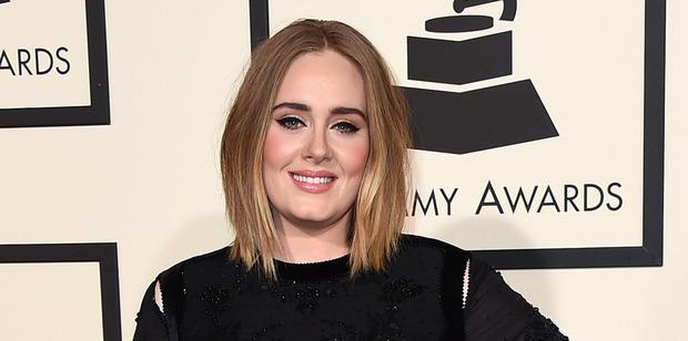 British singer, Adele. Photo / AP