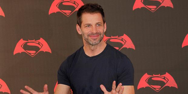 Loading American director Zack Snyder. Photo / AP