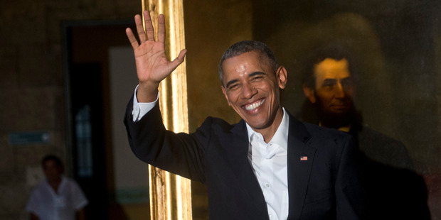 Obama recently signed with Russia a new START treaty that includes new weapons limits. Photo / AP