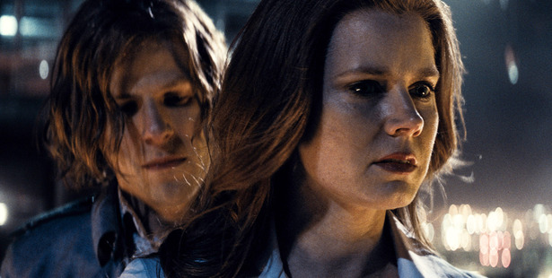 Jesse Eisenberg and Amy Adams in a scene from, Batman v Superman: Dawn of Justice. Photo / AP