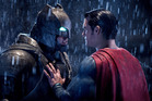 Ben Affleck and Henry Cavill in a scene from the movie, Batman v Superman: Dawn of Justice. Photo / AP