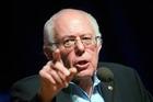Democratic presidential candidate Sen. Bernie Sanders. Photo / AP