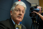 Peter Dunne is committed to reviewing drug policy. Photo / Mark Mitchell