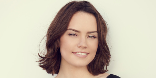 Actress Daisy Ridley plays Rey in the new Star Wars movies.