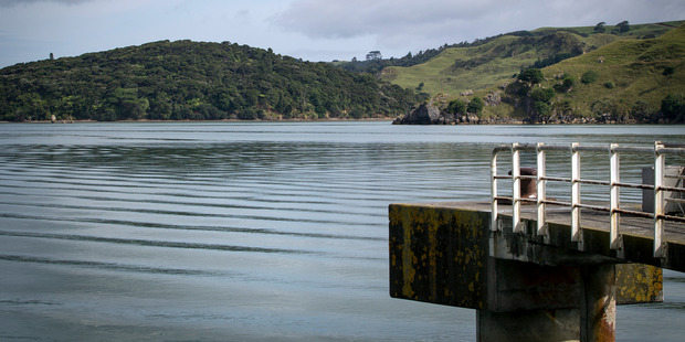 Waikato District Council said about 10 cubic metres of untreated wastewater entered Raglan Harbour at high tide on Friday. Photo / Michael Craig