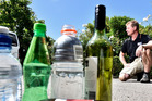 Marty Hoffat is calling for people to recycle bottles.