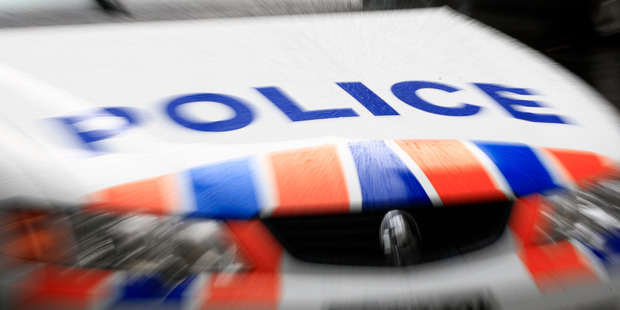Police car fleet numbers may be reduced by ten per cent to save money, according to a new report. 15 June 2009 New Zealand Herald Photograph by Martin Sykes NZH 16Jun09 - HBT 30Aug10 - PULL OV