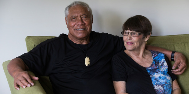 Loading Former All Blacks loose forward legend Waka Nathan, with his wife Janice, at home in Dannemora, Auckland. Waka Nathan suffers from dementia. Photo / Brett Phibbs