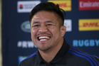 New Zealand All Blacks hooker Keven Mealamu. Photo / Brett Phibbs.