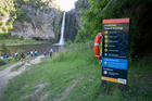 Auckland Council will not close Hunua Falls to swimmers despite two people drowning there in the past nine days. Photo / Steven McNicholl