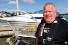 Pictured is organiser Dave Baty at Westhaven Marina today. Photo / Doug Sherring