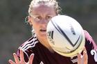 Bay of Plenty's Kelly Brazier is a key player in the NZ Women's Sevens team. Photograph by John Borren.