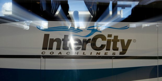 The Intercity bus service was travelling from Tauranga to Wellington when the teenage boy become sick and vomited on the bus. Photo / Michael Craig