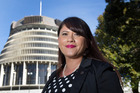 New Zealand First's Ria Bond, who became an MP as a result of Winston Peters' win in the Northland byelection, at Parliament, Wellington. Photo / Mark Mitchell