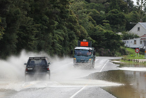 Heavy rain and thunderstorms are expected to hit Northland tonight. PHOTO/PETER DE GRAAF