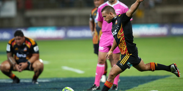 Chiefs v Brumbies, Yarrow Stadium, New Plymouth 20th February 2015. Photo / Sportpix