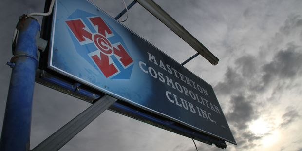 The Masterton Cosmopolitan Club will remain in its present building until the end of the year. PHOTO/FILE
